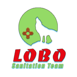 Lobo Protective Services Sanitation Team